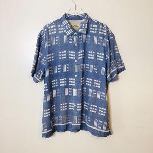 Tommy Bahama button down shirt. Size XXL